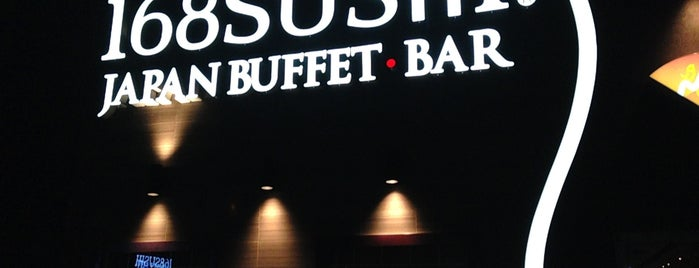 168 Sushi Buffet Mississauga is one of Restaurants.