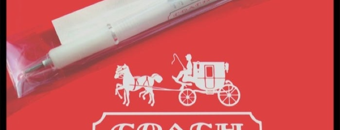 COACH 銀座 is one of The 15 Best Accessories Stores in Tokyo.