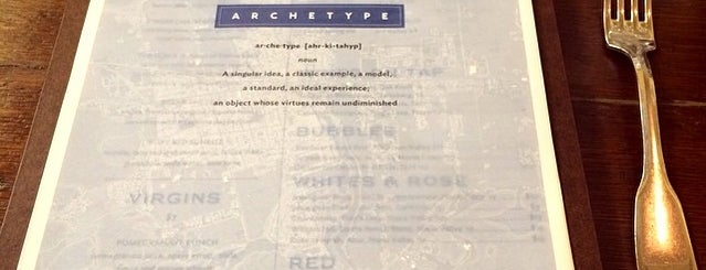Archetype is one of Napa.