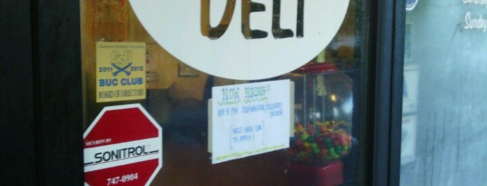 East Bay Deli is one of Charleston, SC.