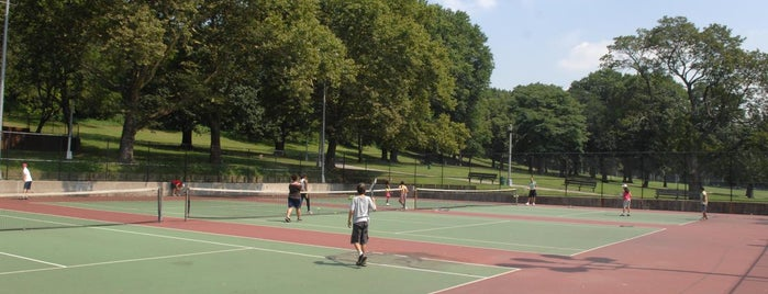 Public Tennis Courts in NYC Parks
