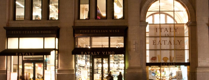 Eataly is one of NYC, here we go.
