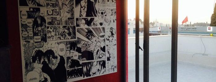Harukaze - Manga Café is one of Salon de Thé 's.
