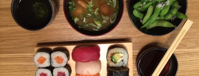 Toro Sushi Lounge is one of real food.