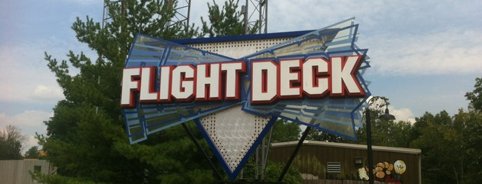 Flight Deck is one of Coaster Credits.
