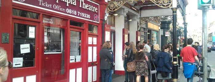 Olympia Theatre is one of The 15 Best Cozy Places in Dublin.