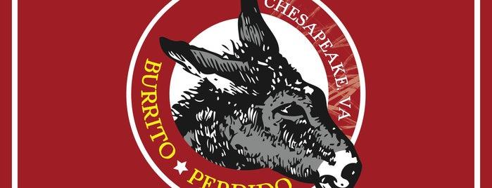 Burrito Perdido is one of Best Places in Chesapeake.