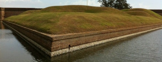 Fort Pulaski is one of Travel Guide to Savannah.