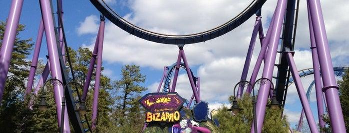 Bizarro is one of ROLLER COASTERS.
