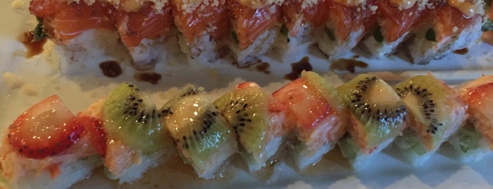 Zen Japanese Grill & Sushi Bar is one of Local Hot Spots .