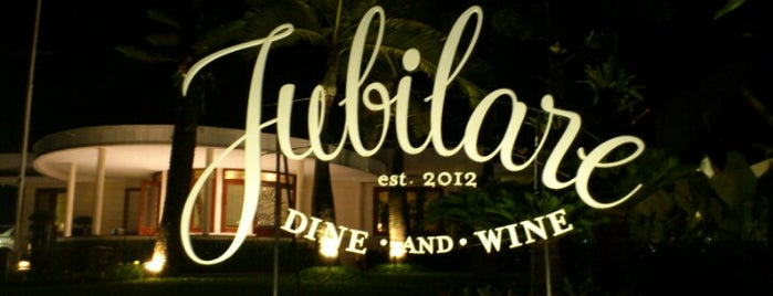 Jubilare Dine and Wine is one of Bandung Kuliner.