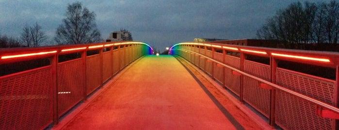 Regenbogenbrücke is one of SU Doppelte Venues.