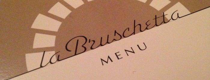 Bruschetta is one of A tester.