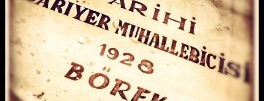Tarihi Sarıyer Muhallebicisi ve Börekçisi is one of Gidip Yemeli.