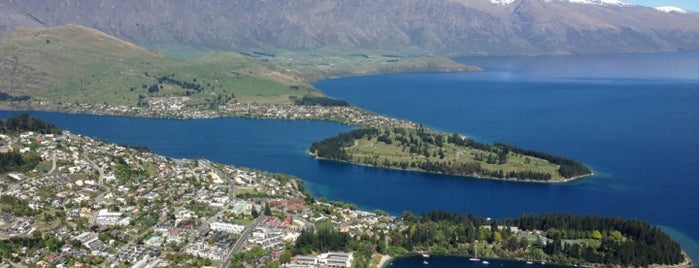 Queenstown is one of New Zealand.