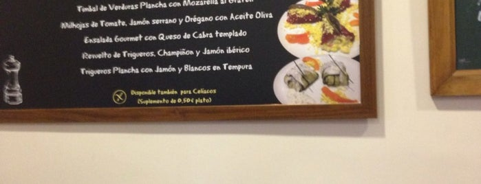 Taberna de Alfonso is one of Madrid sin gluten.
