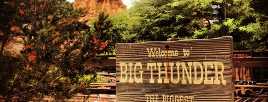 Big Thunder Mountain Railroad is one of Coaster Credits.