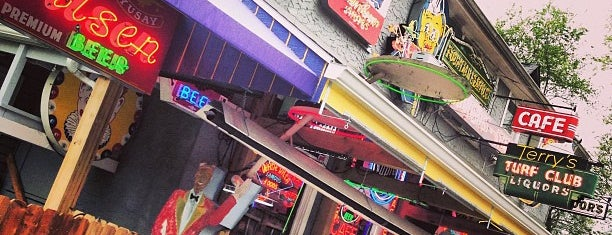 Terry's Turf Club is one of Diners, Drive-ins & Dives.