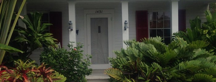 Tennessee Williams House is one of Key West, FL.
