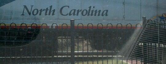 Amtrak - Kannapolis Station (KAN) is one of Trains - North Carolina.