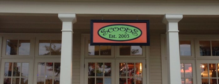 Scoops is one of The Regulars.