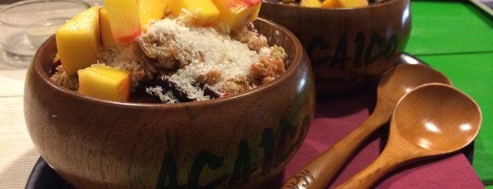 Acaico Fresh Bar is one of real food.