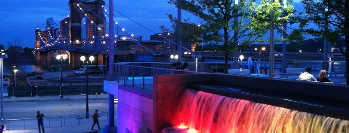 John G & Phyllis W Smale Riverfront Park is one of The 15 Best Places for Sunsets in Cincinnati.
