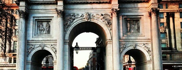 Marble Arch is one of Hand Drawn Map of London.