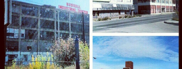 Russell Industrial Center is one of favs.