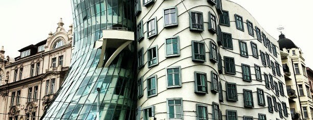 Dancing House is one of Prague.
