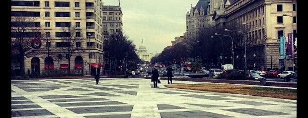 Freedom Plaza is one of Washington by Isa.