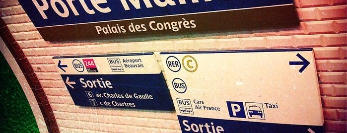 Métro Porte Maillot [1] is one of Stations de metro a Paris.
