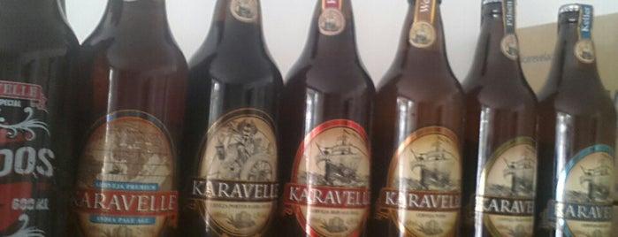 Karavelle Cervejaria Artesanal is one of Preciso visitar - Loja/Bar - Cervejas de Verdade.