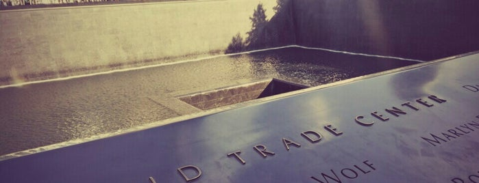 National September 11 Memorial & Museum is one of NYC Monuments & Parks.