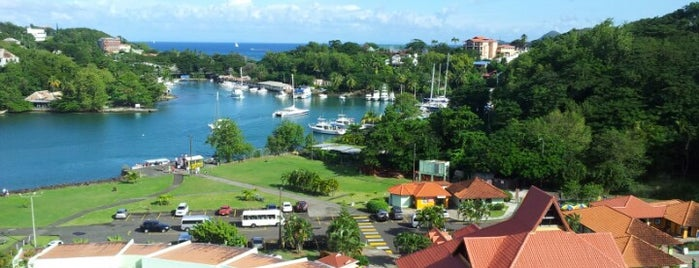 Castries is one of 36 hours in...St Lucia.