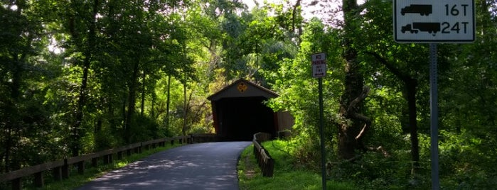 Jericho Road Covered Bridge is one of The Great Outdoors.