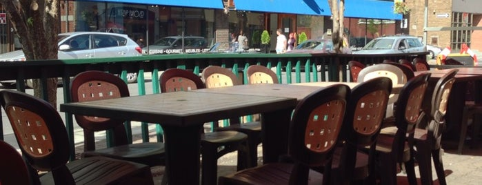 Annie's is one of Best Terrasses in Montreal.