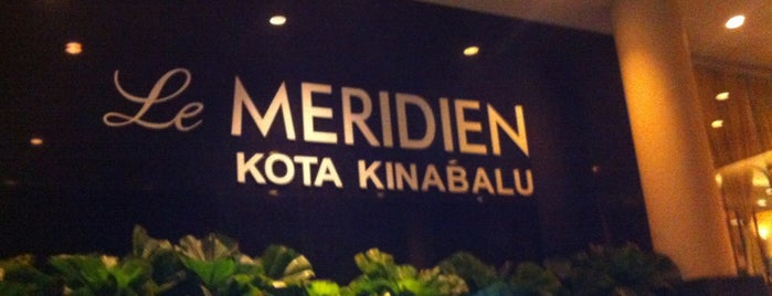 Le Méridien Kota Kinabalu is one of 20 favorite restaurants.