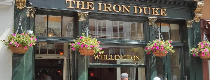 The Iron Duke is one of London Pint.