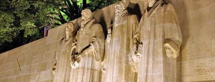 Mur des Réformateurs is one of Закладки IZI.travel.
