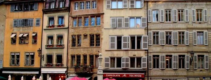 Place du Bourg de Four is one of Закладки IZI.travel.