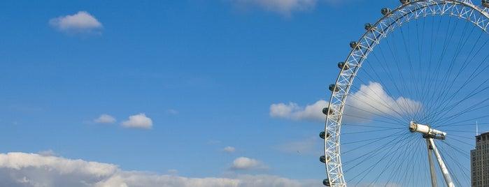 Лондонский глаз is one of Закладки IZI.travel.