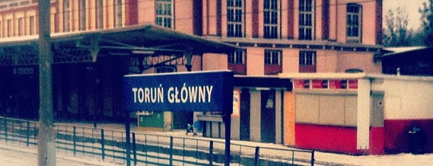 Toruń Główny is one of Travelling to Torun.