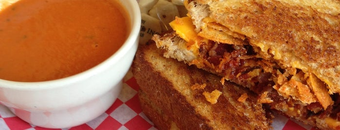 Tom + Chee is one of Cincy - Food to Try.