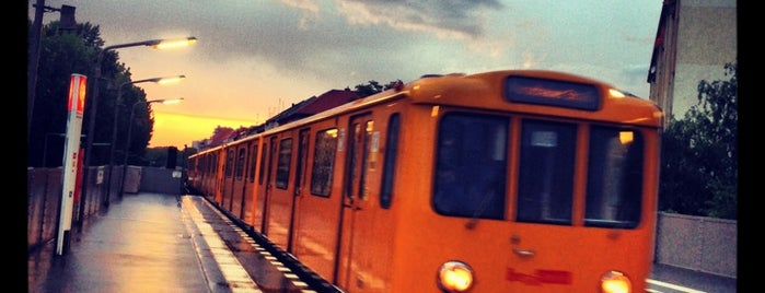 U Prinzenstraße is one of U-Bahn Berlin.