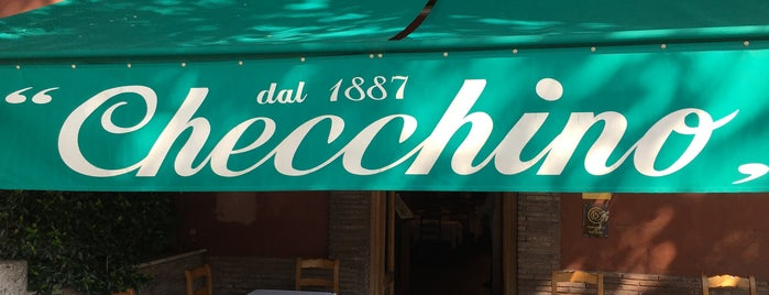 Checchino dal 1887 is one of Rome.