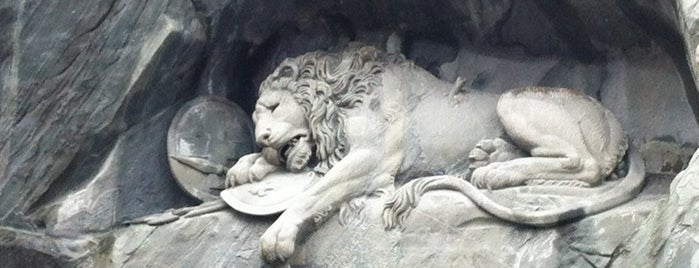 Lion Monument is one of Switzerland.