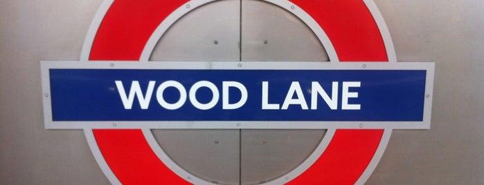Wood Lane London Underground Station is one of Tube Challenge.