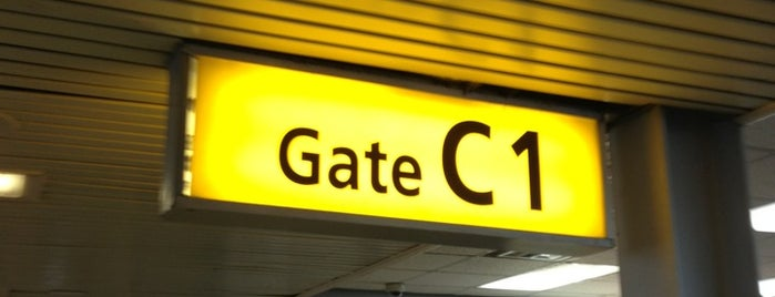 Concourse C is one of Airports and hotels I have known.