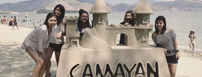 Beach View, Camayan Beach Resort is one of North Luzon.